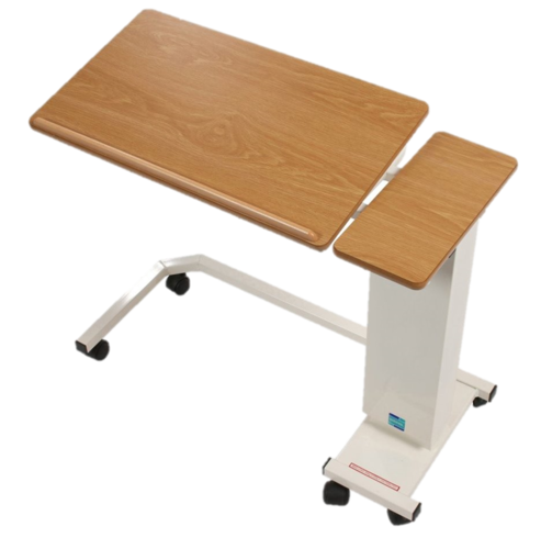 3015 Easy Riser Overbed Table (Tilting top wheelchair base)