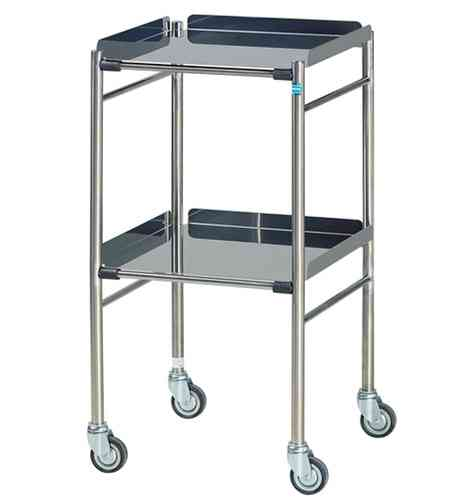1550 Hastings Stainless Steel Surgical Trolley
