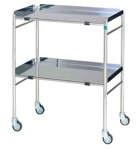 1551 Hastings Stainless Steel Surgical Trolley