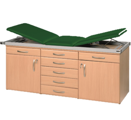 Specialist Couch System with Two Drawerline Units and One Drawer Pack in Beech Finish
