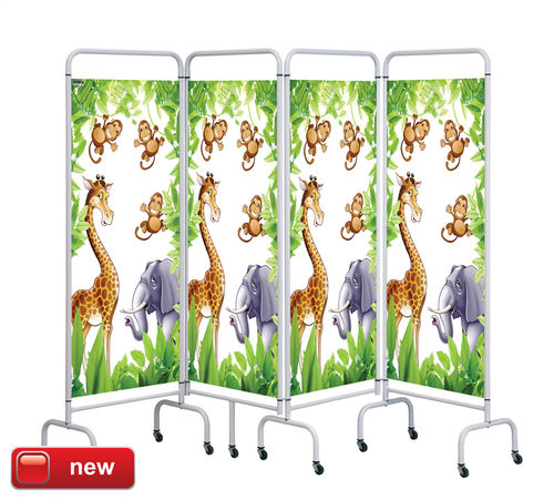 Sunflower 4 Panel Mobile Screen