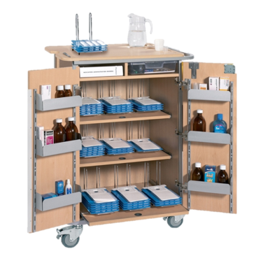 Sun-DT2MDS9 Monitored Dosage System (MDS) Trolley - Large (9 Racks)