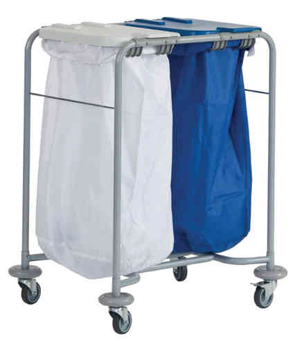 Two Bag Laundry Trolley