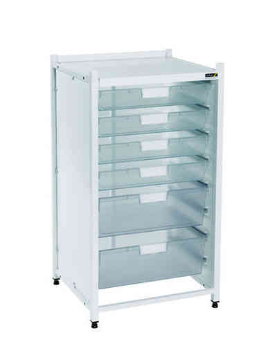 Sunflower Low Level Module - 4 Single Depth/2 Double Depth Clear Trays