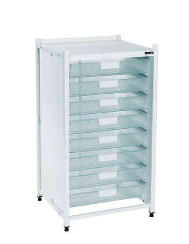 Sunflower Low Level Module - 8 Single Depth Clear Trays