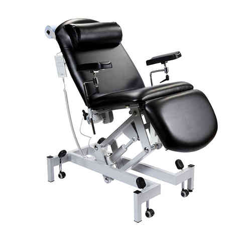 Sunflower Medical Fushion Phlebotomy Chair with Electric Height Adjustment & Tilting Seat