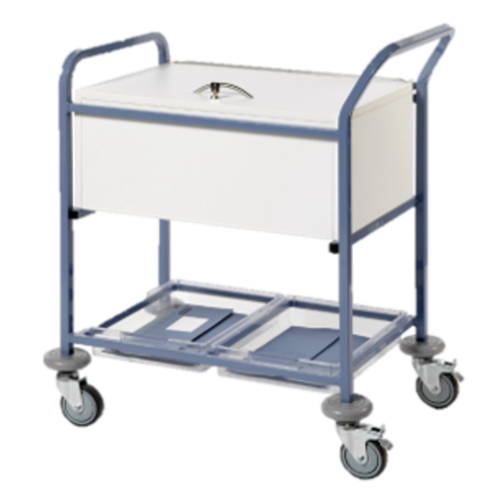 Sun-MRTTL1 Records Transfer Trolley - With Folding Locking Top