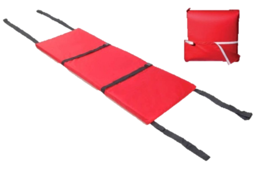 Wall Mounted Evacuation Mattress with Storage Bag