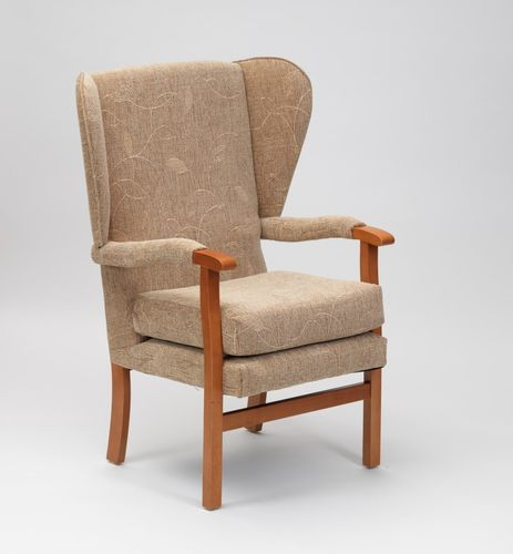 Jubilee Fireside Chair- Biscuit