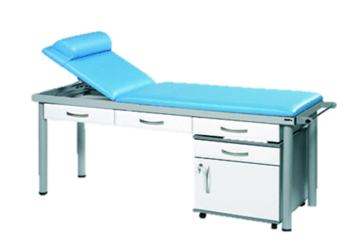 Practitioner Deluxe Examination Couch (Shown with White Accessories)