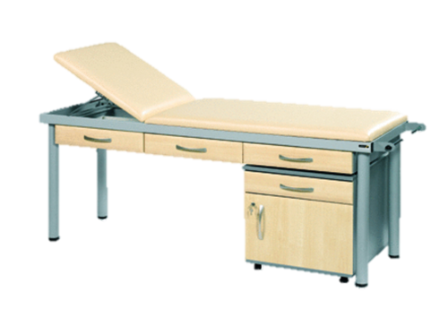 Practitioner Deluxe Examination Couch (Shown with Maple Accessories)