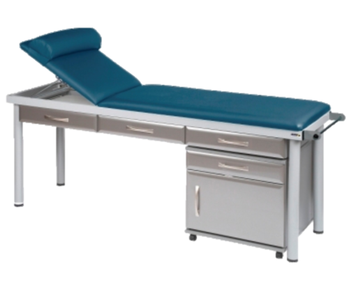 Practitioner Deluxe Examination Couch (Shown with Titanium Accessories)