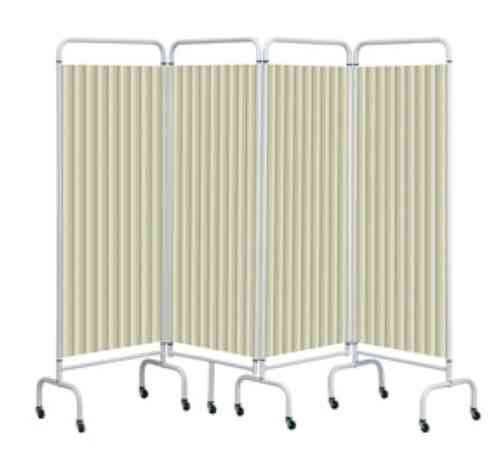 Four Section Screen with Disposable Curtain