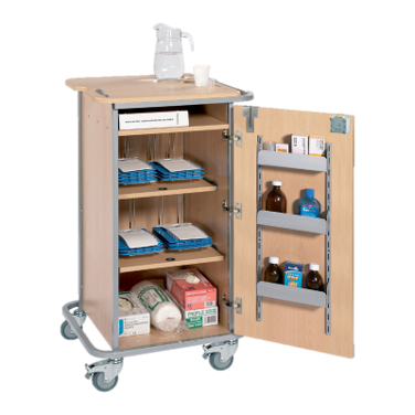 Sun-DT1MDS4 Monitored Dosage System (MDS) Trolley - Small (4 Racks)
