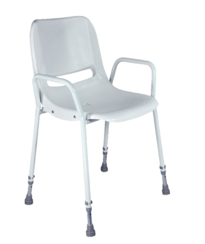 Milton Portable Shower Chair (Adjustable Height)