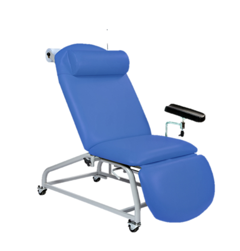 Sunflower Medical Fixed Height Phlebotomy Chair with 4 Locking Castors
