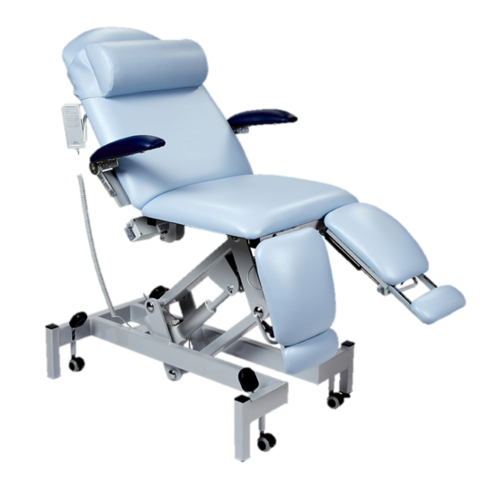 Sunflower Medical Podiatry Chair Electric Height and Backrest Adjustment