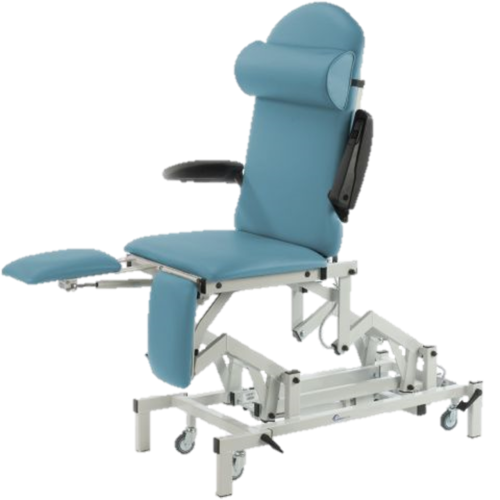 Medicare Podiatry Couch-Electric Height and Backrest Adjustment