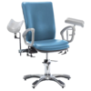 Seers Medical Hydraulic Height Adjustable Phlebotomy Chair (Dual Armrests)