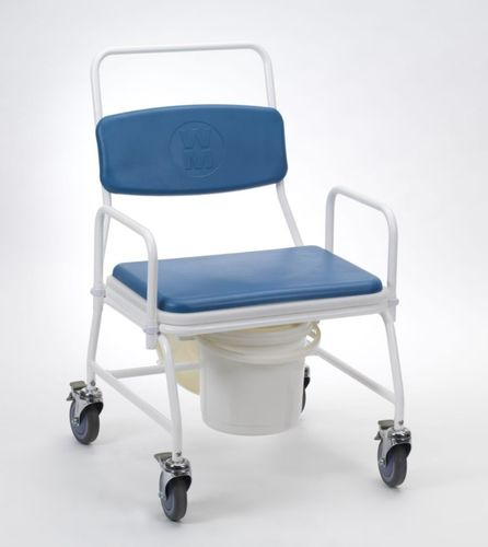 Birstall Bariatric Commode with 4 Braked Castors